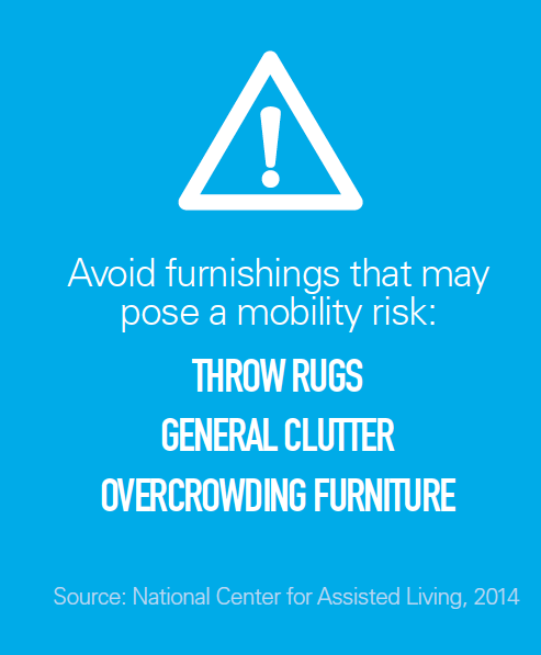 Infographic about avoiding products that pose mobility risk