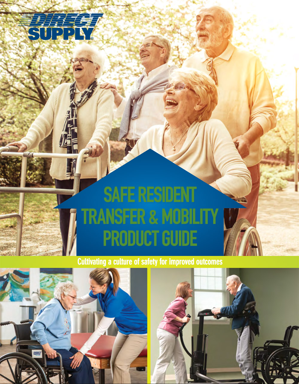 Safe resident transfer and mobility product guide