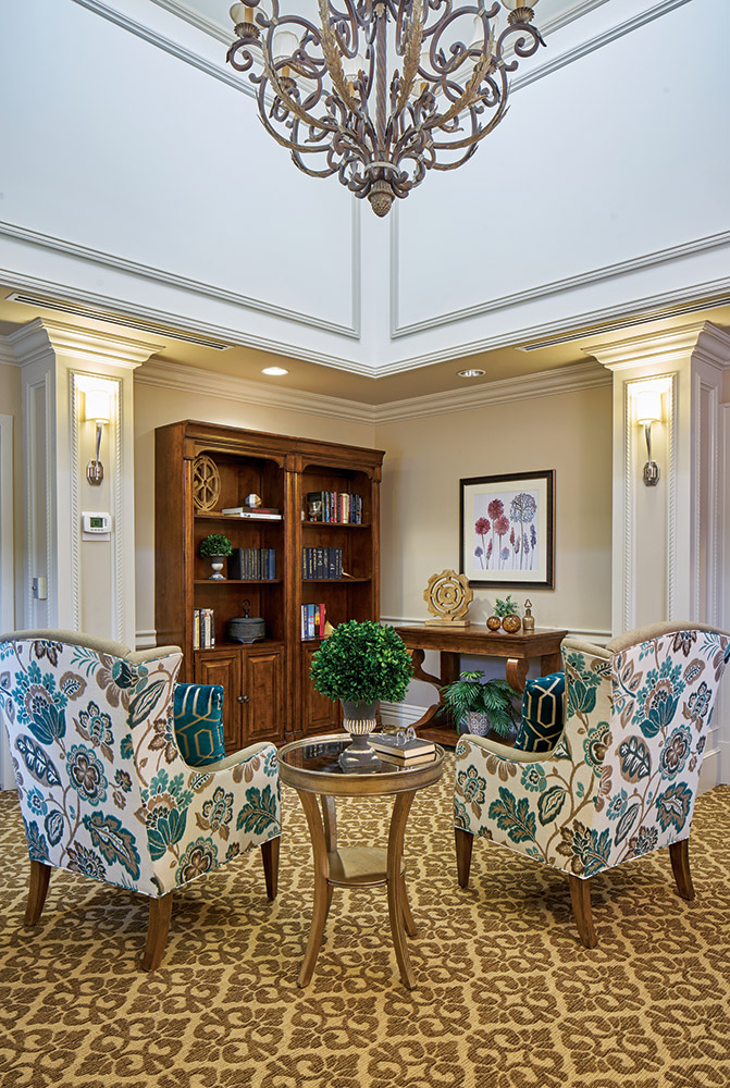 Common area at Woodcrest at Blakeford