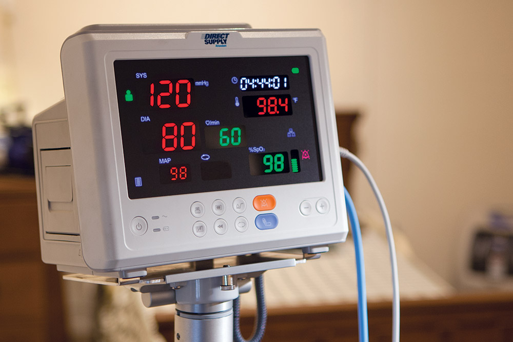 Direct Supply Attendant Vital Signs Monitor