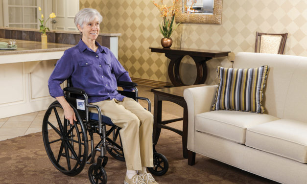 How to Find the Right Wheelchair for Each Resident