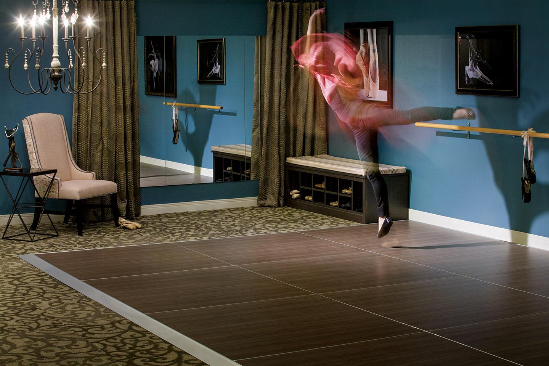 Flexible room with dance floor designed for Senior Living