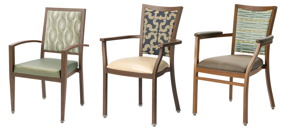 Faux-Wood Chairs