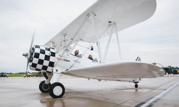 Veterans Take Dream Flights in World War II-Era Biplane
