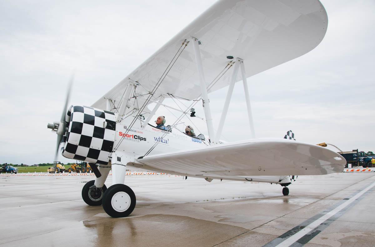 Veterans Take Dream Flights in World War II-Era Biplane