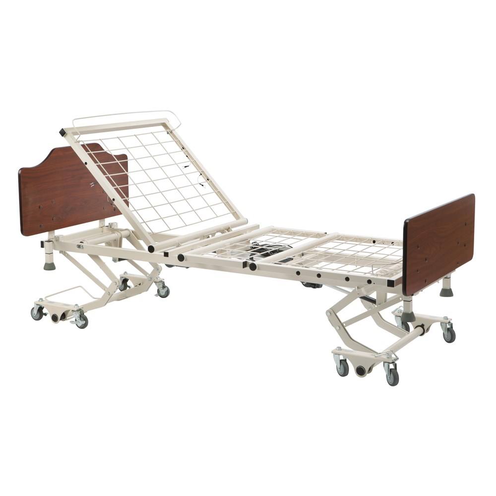 Adjustable-height bed for Senior Living.