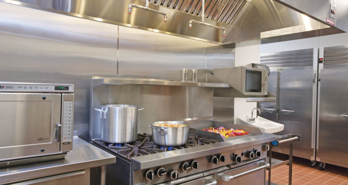 What Products Should Be under the Hood in a Commercial Kitchen?