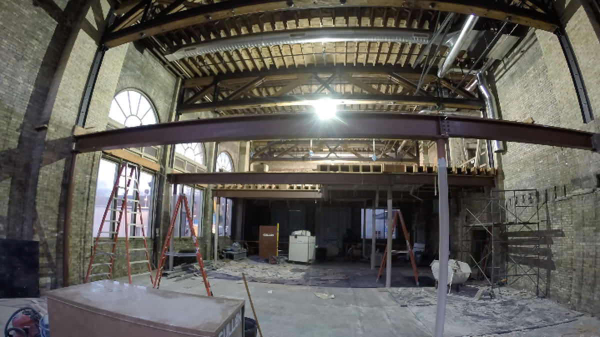 Watch a Time-Lapse of Renovations in the Future ITC Great Hall