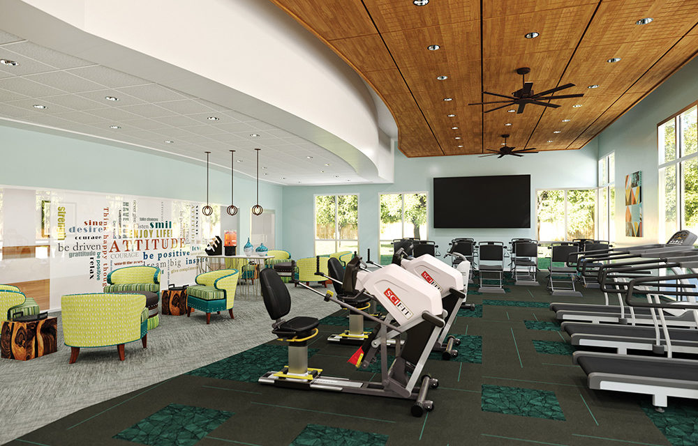 Tips for attractive rehabilitation gym design direct supply