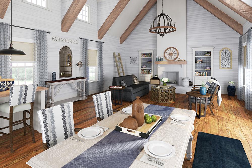 5 open concept ideas for standout senior living spaces - Open concept living room ideas ...