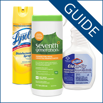 Guide to Disinfectant Claims on Cleaning Products