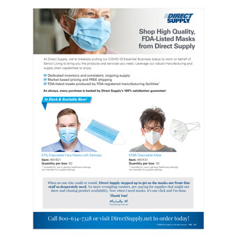 FDA Listed Masks Overview