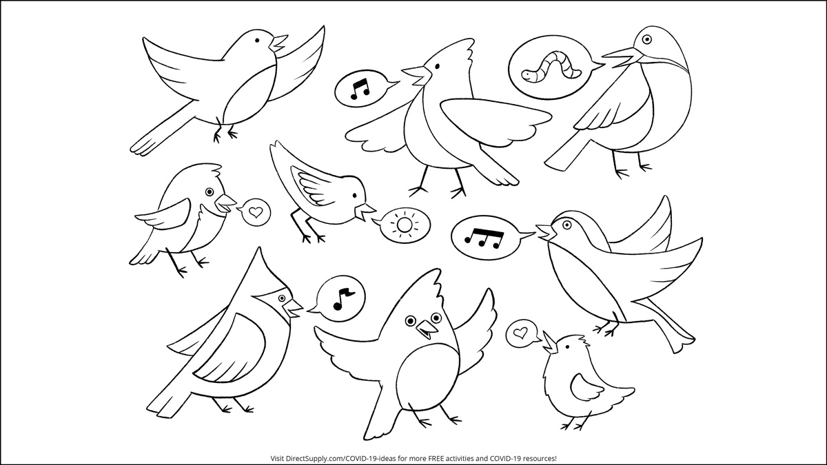 Free coloring sheet and puzzles for your residents to enjoy!