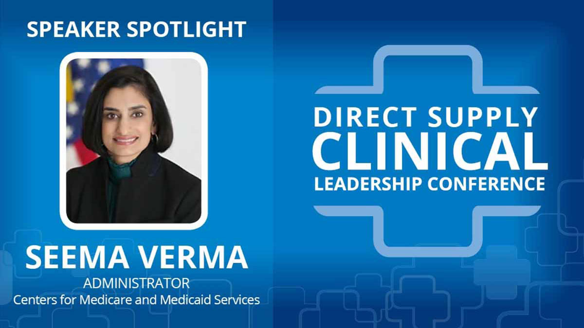 Direct Supply's Fireside Chat with Administrator Seema Verma