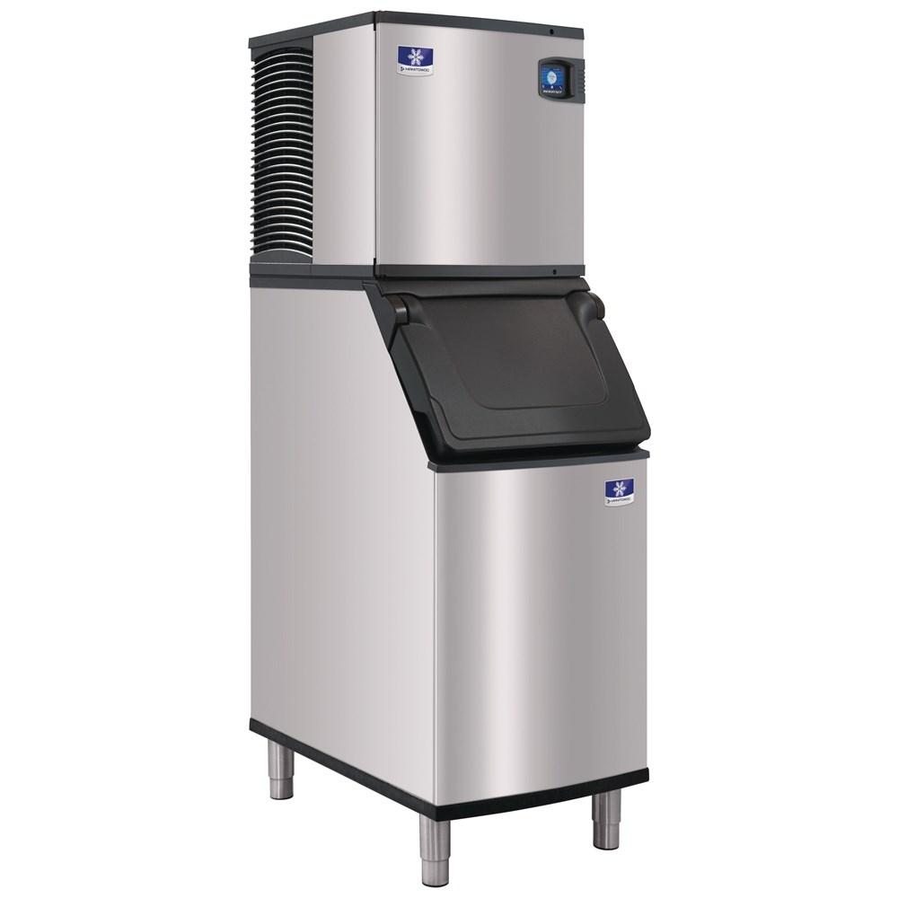 Floor standing commercial ice machine