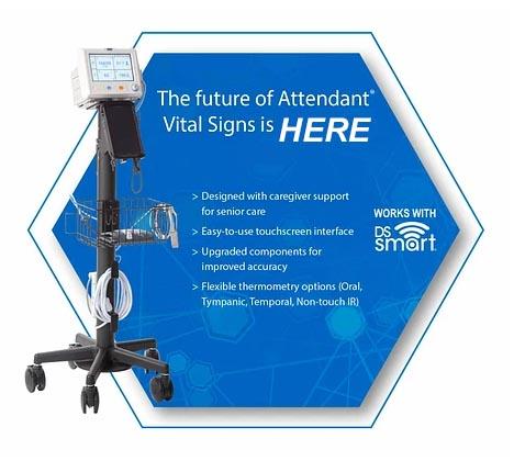 Attendant Vital Signs Monitor