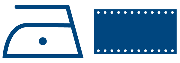 Commercial Laundry Labeling Icon