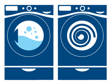 Commercial Laundry Laundering Icon