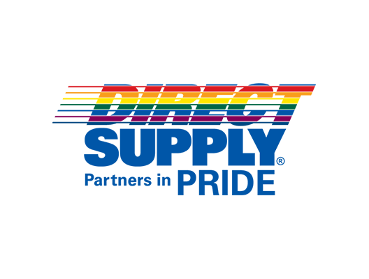 Direct Supply Partners in PRIDE logo