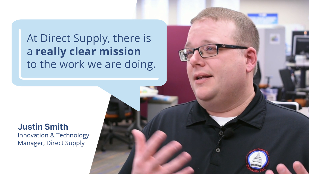Justin Smith Direct Supply Innovation & Technology