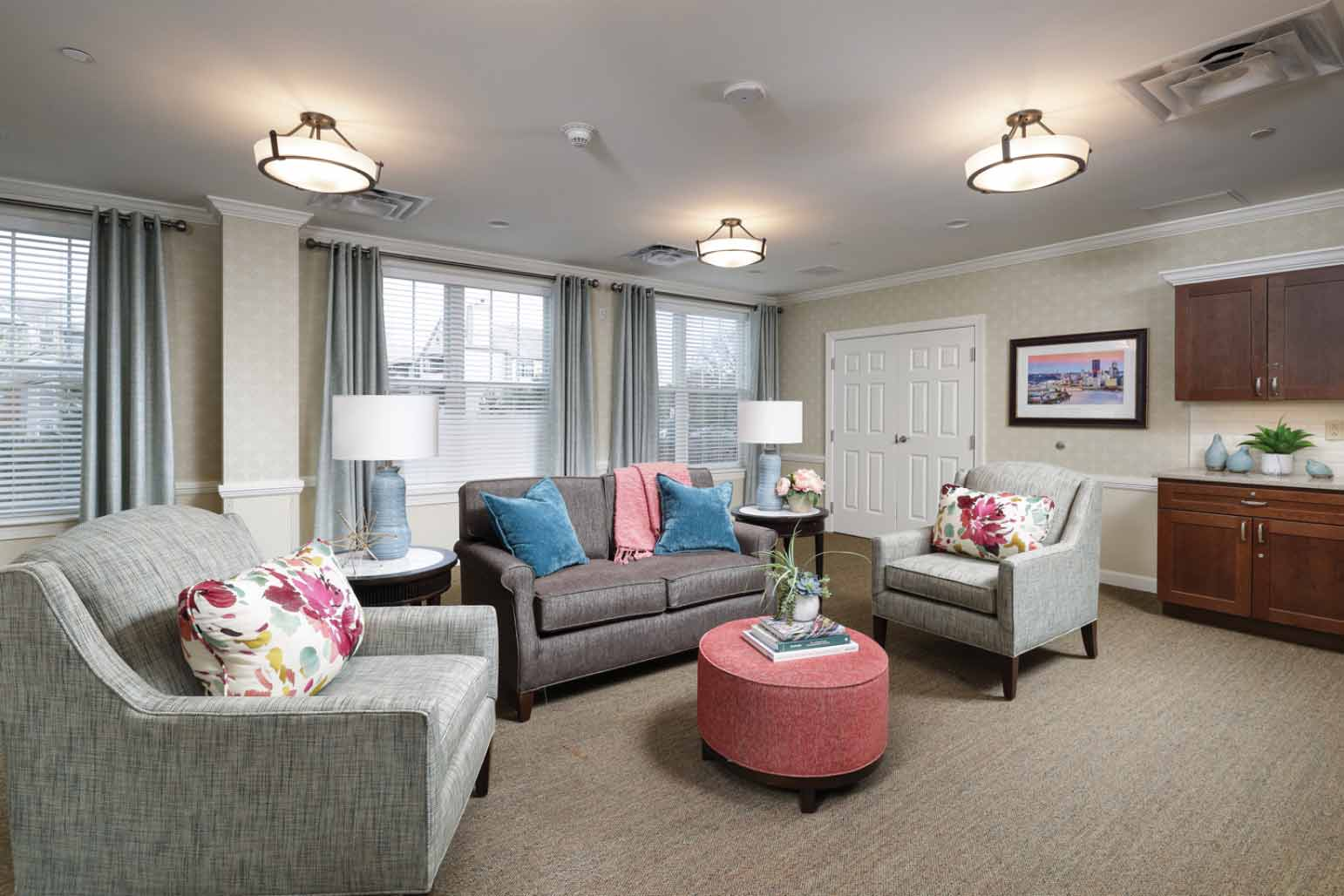 photo of an interior of Sunrise of McCandless Senior Living