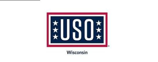 USO Wisconsin logo